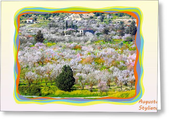 Star Valley Greeting Cards - Beautiful Landscape Greeting Card by Augusta Stylianou