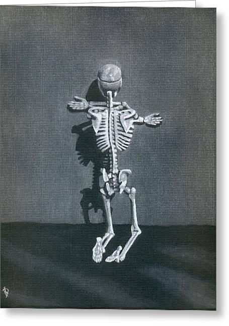 Anatomical Drawings Greeting Cards - Beelzebub II Greeting Card by Kd Neeley