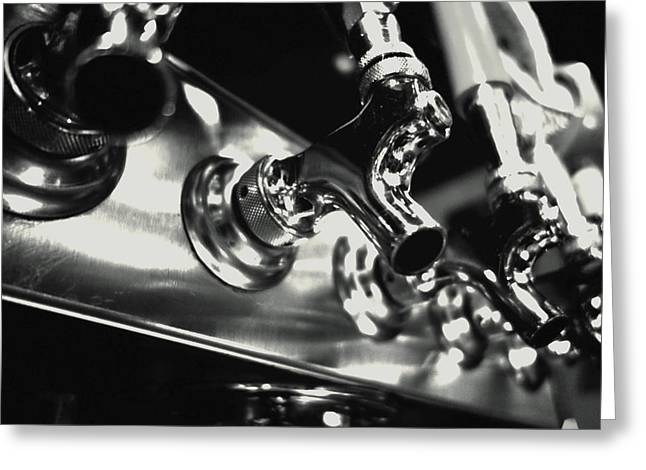 Tap Photographs Greeting Cards - Beer on Tap Greeting Card by Mountain Dreams