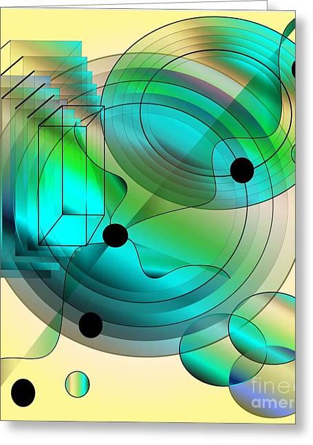 Begin Again Greeting Card by Iris Gelbart