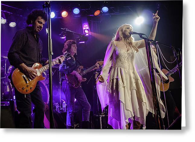 Bella Donna Greeting Cards - Bella Donna - Stevie Nicks Tribute Greeting Card by Salvador Gomez