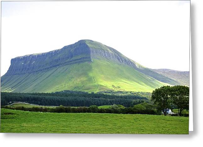 Fianna Greeting Cards - Ben Bulben Greeting Card by Charlie Brock