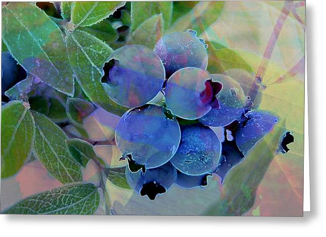 Design With Photography Greeting Cards - Berry Beautiful Greeting Card by Shirley Sirois
