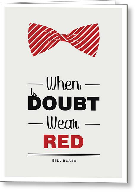 Bill Blass American Fashion Designer Quote Typography Design Quotes, Poster Greeting Card by Lab No 4 - The Quotography Department