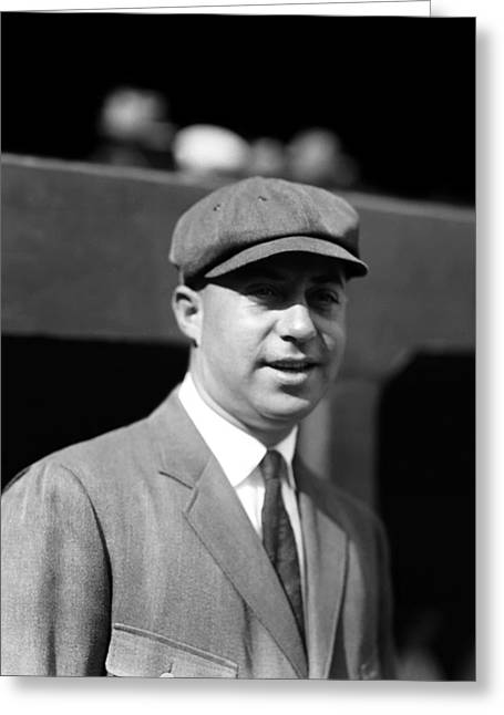 Umpire Greeting Cards - Bill McGowan Greeting Card by Retro Images Archive