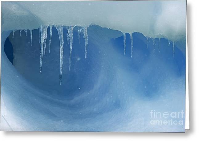 Caves Greeting Cards - Blue Dream... Greeting Card by Nina Stavlund