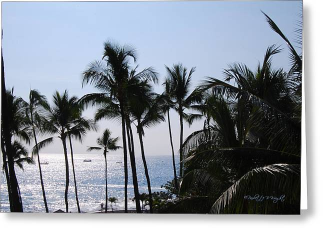 Best Ocean Photography Greeting Cards - Blue Hawaii Greeting Card by Paulette B Wright