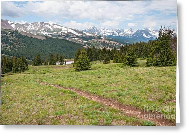 Boreas Greeting Cards - Boreas Pass Colorado Greeting Card by Sharon Day