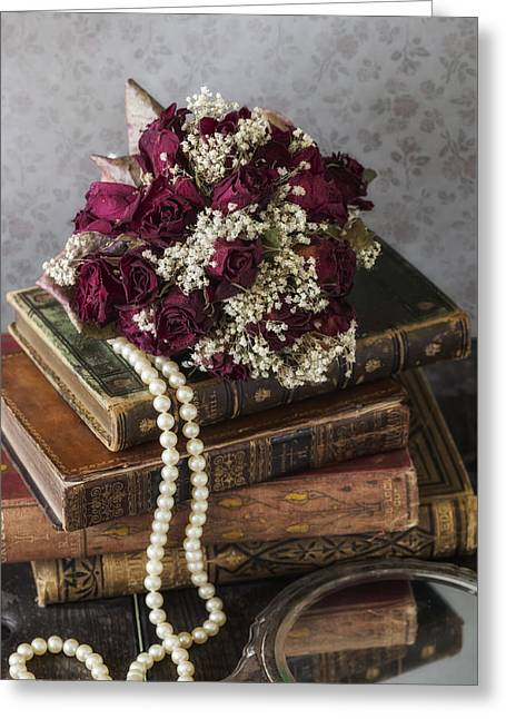 Rose Petals Greeting Cards - Bridal Bouquet Greeting Card by Joana Kruse