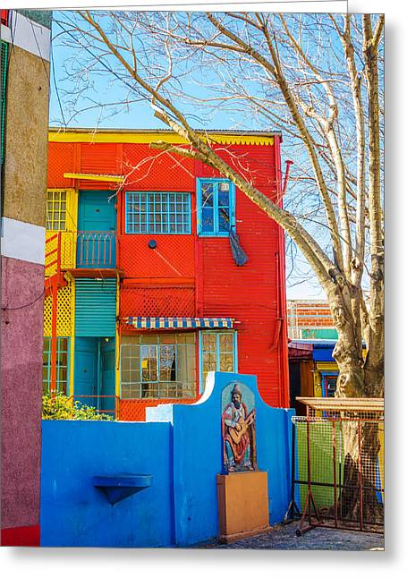 Latino Culture Greeting Cards - Bright Colors in Buenos Aires Greeting Card by Jess Kraft