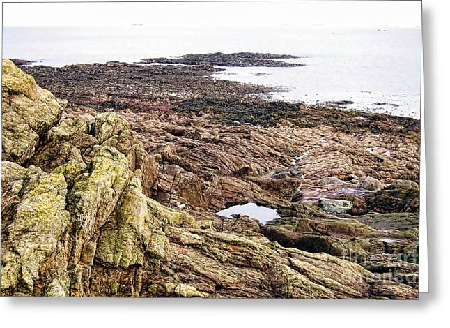France Photographs Greeting Cards - Brittany Coast Greeting Card by Olivier Le Queinec