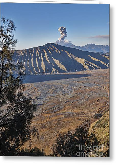 Asien Greeting Cards - Bromo Tengger Semeru National Park Greeting Card by Juergen Ritterbach