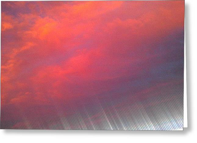 Bryant Denny Stadium Greeting Cards - Bryant-Denny Painted Sky Greeting Card by Kenny Glover