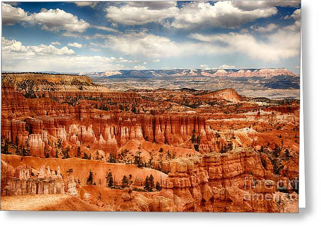 Spectacular Greeting Cards - Bryce Canyon Greeting Card by Jane Rix