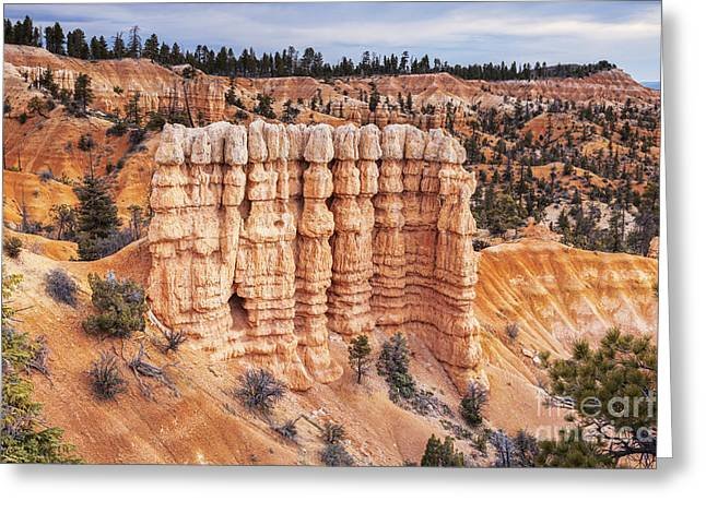 """bryce Canyon"" Greeting Cards - Bryce Canyon Utah USA Greeting Card by Colin and Linda McKie"