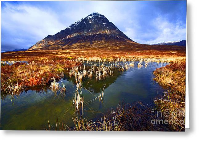 Glencoe Wall Art Greeting Cards - Buachaille Etive Mor Scotland Greeting Card by Craig B