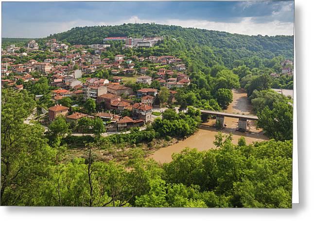Bulgaria, Central Mountains, Veliko Greeting Card by Walter Bibikow