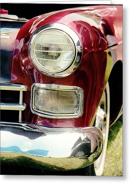 Recently Sold -  - 1960 Greeting Cards - Cadillac Fastback 1948 Greeting Card by David M Davis