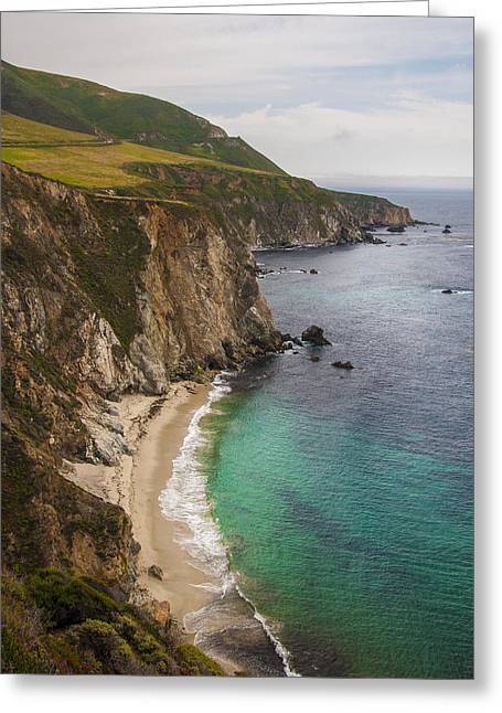 Big Sir California Greeting Cards - California Coast Greeting Card by Jabon  Eagar