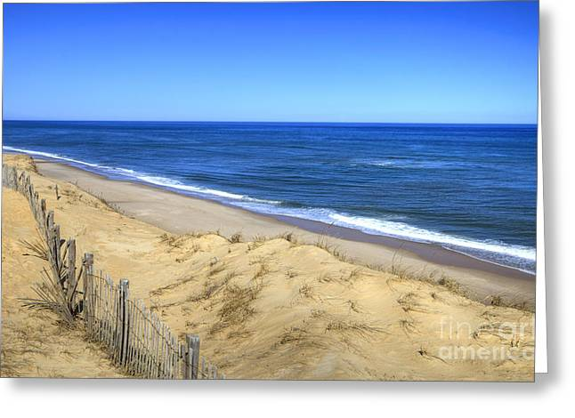 Marconi Beach Greeting Cards - Cape Cod National Seashore Greeting Card by Denis Tangney Jr