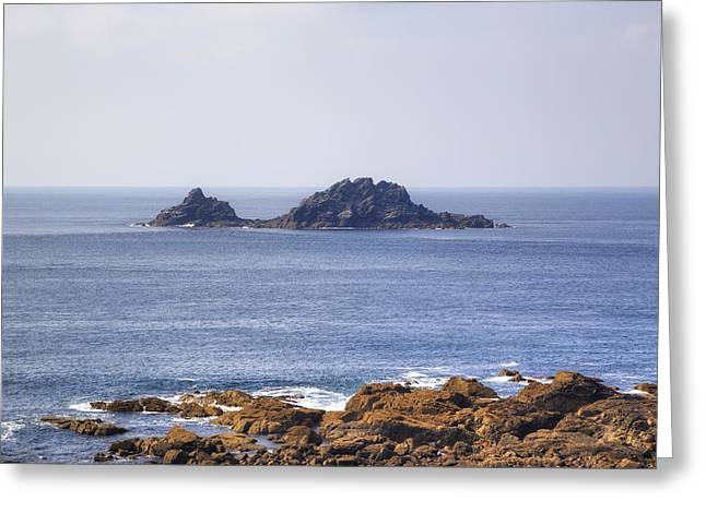 Cape Cornwall Greeting Cards - Cape Cornwall Greeting Card by Joana Kruse