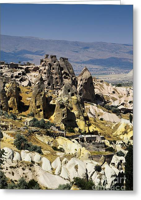 Stones Pyrography Greeting Cards - Cappadocia Greeting Card by Jelena Jovanovic