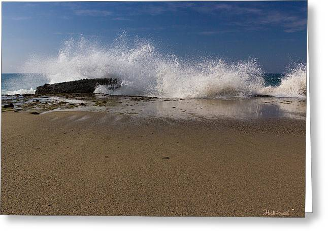 Ocean Art Photos Greeting Cards - Captivating  Greeting Card by Heidi Smith