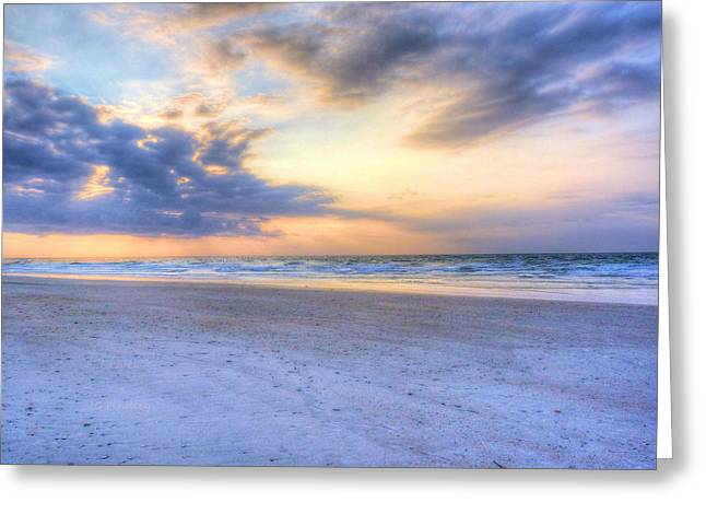 Wrightsville Beach Greeting Cards - Carolina Morning Greeting Card by JC Findley