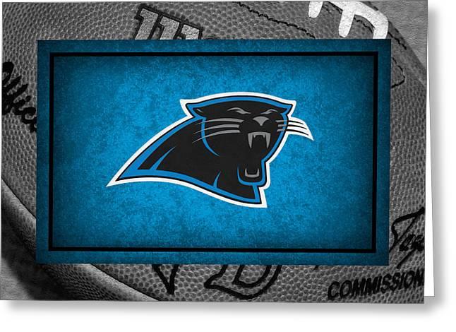 Panther Photographs Greeting Cards - Carolina Panthers Greeting Card by Joe Hamilton