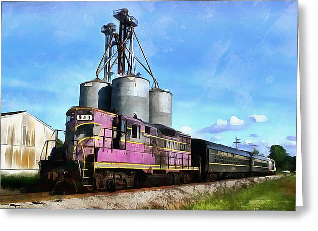 Carolina Southern Railroad Greeting Card by Joseph C Hinson Photography