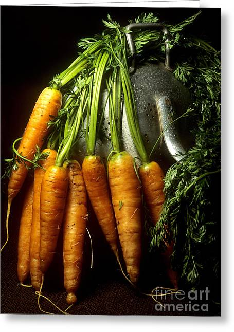 Carrot Greeting Cards - Carrots Greeting Card by Bernard Jaubert