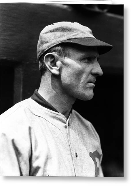 Casey Greeting Cards - Casey Stengel Greeting Card by Retro Images Archive