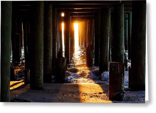 Casino Pier Greeting Cards - Casino Pier Greeting Card by Bill Terlecki