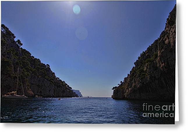 Provence Village Greeting Cards - Cassis Greeting Card by Rafael  Pacheco