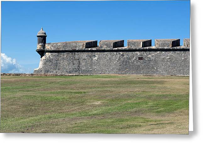 Puerto Rico Greeting Cards - Castillo San Felipe del Morro. Greeting Card by Fernando Barozza