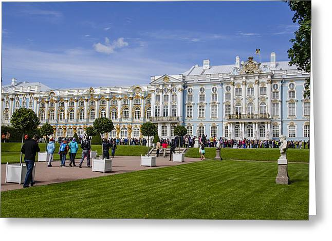 Catherine Palace - St Petersburg Russia Greeting Card by Jon Berghoff