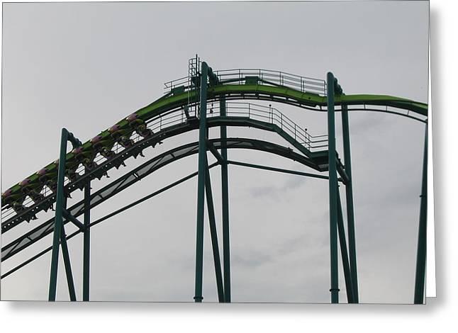 Raptor Greeting Cards - Cedar Point - Raptor - 12122 Greeting Card by DC Photographer