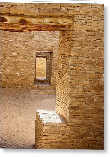 Ralser Greeting Cards - Chaco canyon Greeting Card by Steven Ralser