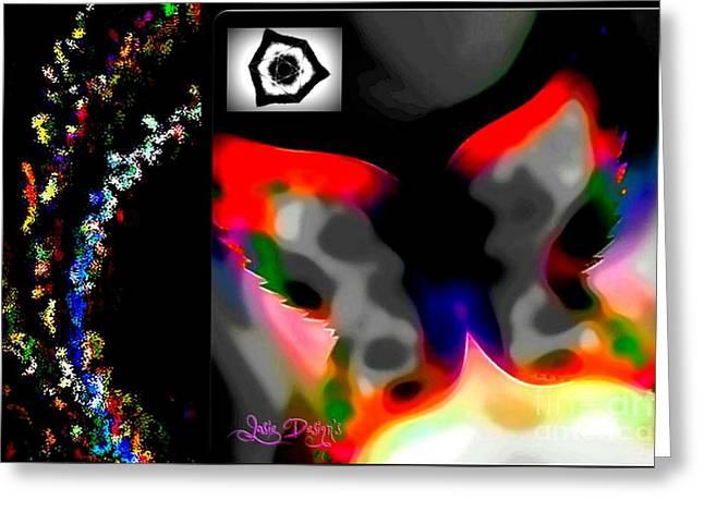 Sacral Chakra Greeting Cards - Chakra Balance Healing Art Greeting Card by Golda Talor