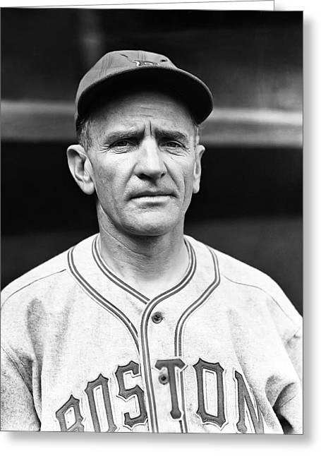 Casey Greeting Cards - Charles D. Casey Stengel Greeting Card by Retro Images Archive