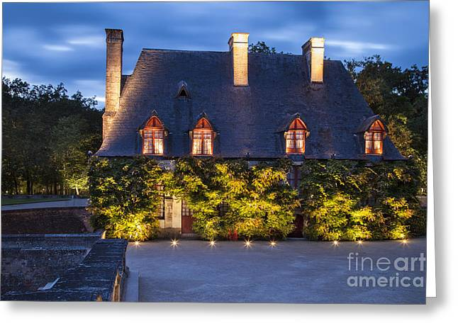 Stewards Greeting Cards - Chateau Chenonceau Greeting Card by Brian Jannsen