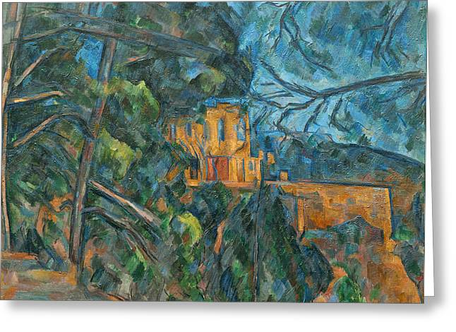 Chateau Noir Greeting Card by Paul Cezanne