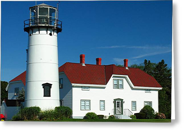 Chatham Greeting Cards - Chatham Lighthouse Greeting Card by Juergen Roth