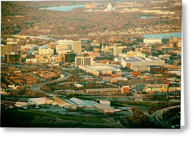 Chattanooga Tennessee Greeting Cards - Chattanooga Tennessee Greeting Card by Mountain Dreams