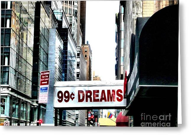 Cheap Dreams Greeting Card by Lauren Leigh Hunter Fine Art Photography