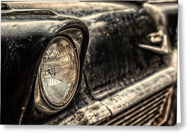 Personal Land Vehicle Greeting Cards - Chevrolet Belair from 1957 Greeting Card by Dobromir Dobrinov