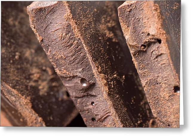 Chocolate Greeting Card by Frank Tschakert