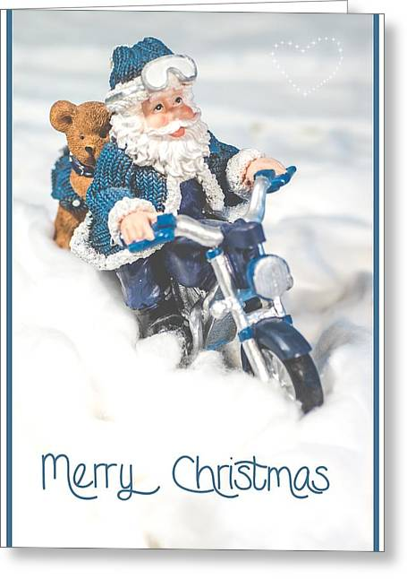 Kjg Greeting Cards - Christmas Card Greeting Card by Mirra Photography