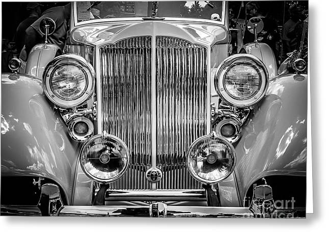 Chrome Style Greeting Card by Perry Webster
