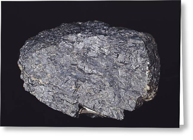 Stainless Steel Greeting Cards - Chromite Greeting Card by Science Photo Library